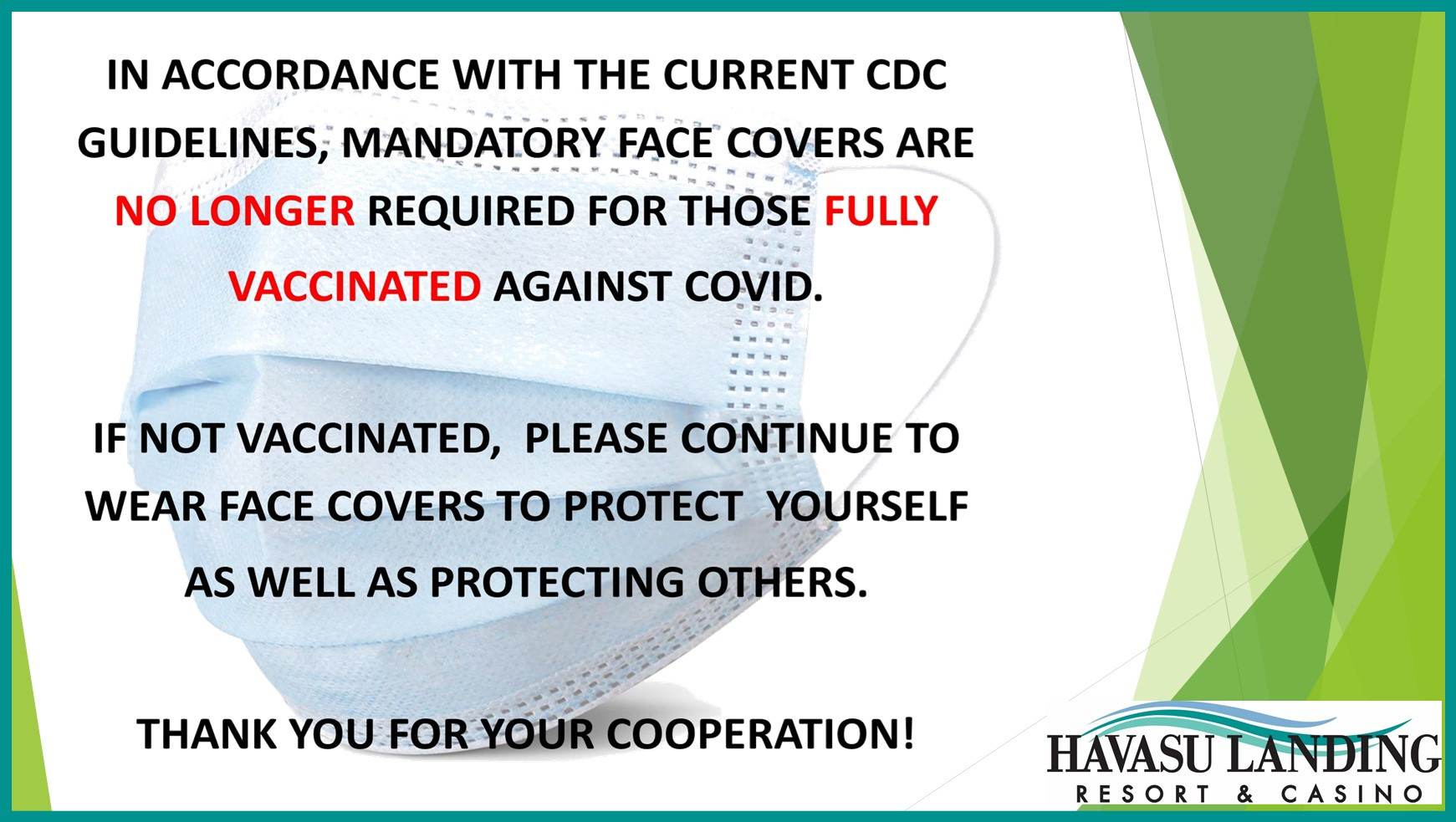 CDC COVID Mask Guidelines